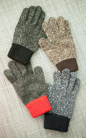 ボカシ配色スマート手袋
