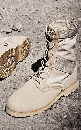 米軍ジデ - 砂漠化