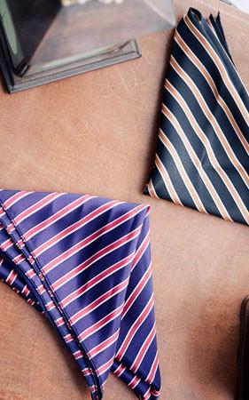ダンガラ斜線スカーフ