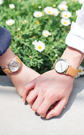 あなたと私とカップル時計