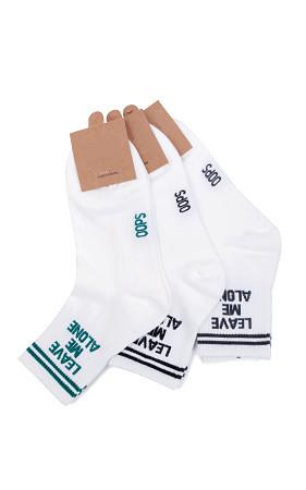 LEAVE綿の靴下