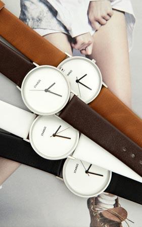 マウントレザー腕時計