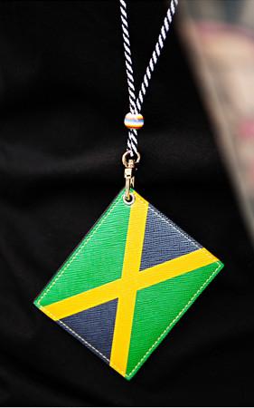 ワールド国旗カートネックレス
