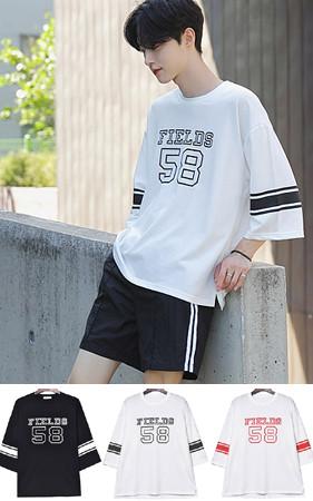 2018 JAPANチャンピオ*身上レプリカ<br>フィールドオーバーフィット7部ティーシャツ