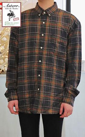 数量限定1万5千ウォン割引<br>アスタームードチェックシャツ