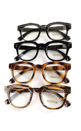 スパーズ角のメガネ