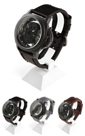 スカル腕時計