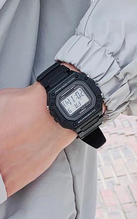 カシオウレタンバンド電子時計