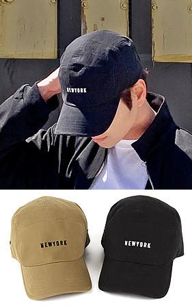 ニューヨークレタリングキャップ帽子