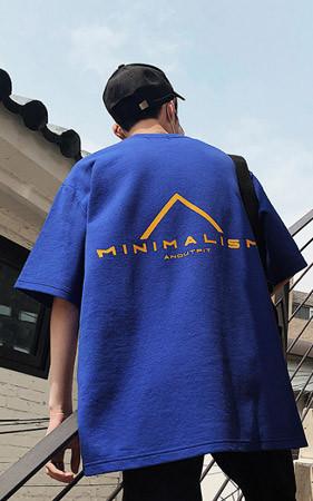 ミニマリズムオーバーフィットティーシャツ