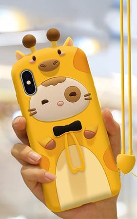 キリン猫、iPhoneケース