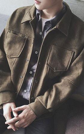 スエードショットジャケット