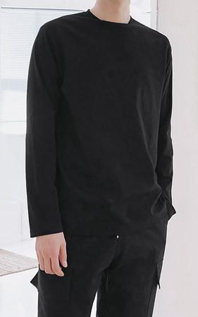 グッドクオリティブント基本長袖Tシャツ