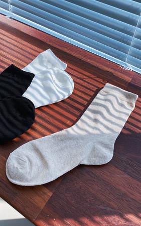 ベーシック無地女性の靴下<br>最小注文数量2個